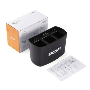 3 In 1 3 Port Charging Hub Charger Battery Dock for DJI for Phantom 2 / 3 Intelligently Charge up to 3 Batteries