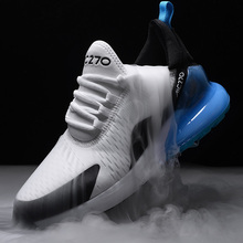 Running shoes for men  breathable mesh shoes 2019 summer air cushion  tennis  sneakers Jogging shoes night elf men running shoes high quality women sneakers breathable air mesh colors change tennis shoes hot sport shoes men 2016