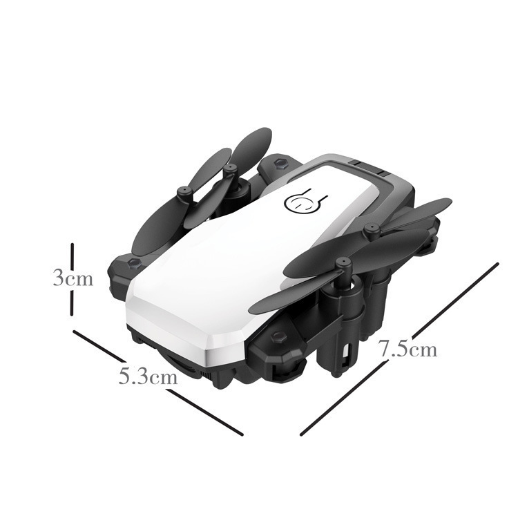 Four-axis Folding Aircraft Gesture Photo Shoot Unmanned Aerial Vehicle Set High Real-Time Transmission Drop-resistant Remote Con