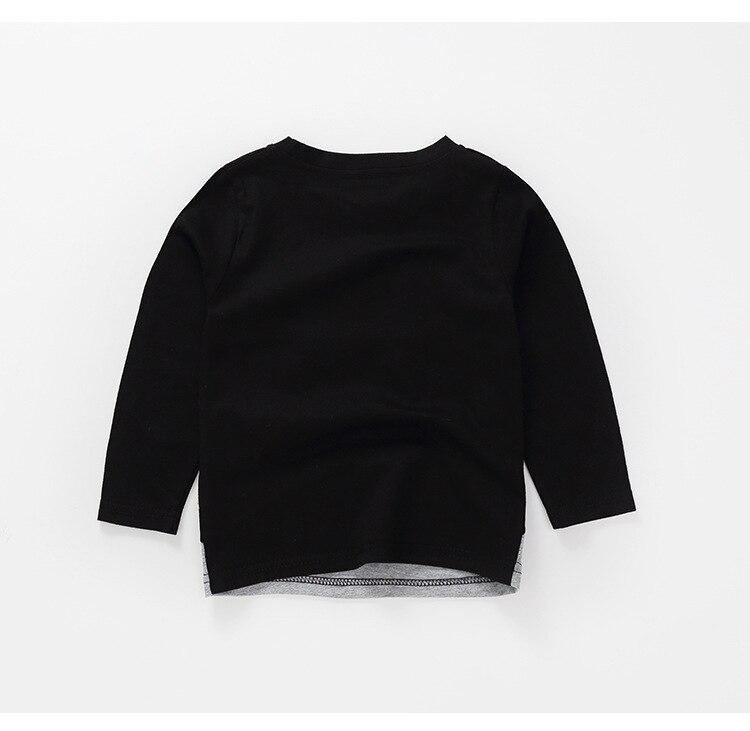 New Spring Boys Girls Cartoon Cotton T Shirts Children Tees Boy Girl Long Sleeve T Shirts Kids Tops Brand Baby Clothes 12M-8Y 40