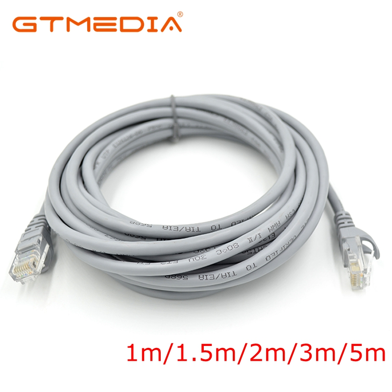 CAT5e Ethernet Cable RJ45 Ethernet Network LAN Cable High Speed Router Computer Cables For PC Router Laptop 1m/1.5m/2m/3m/5m