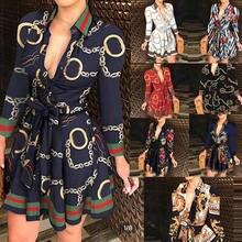 Осень 2020 модное Европейское и американское Новое осеннее платье