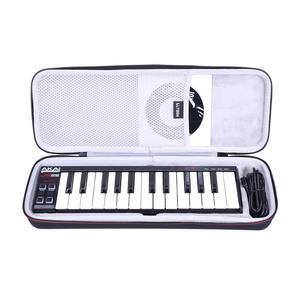Жесткий чехол LTGEM EVA для AKai Professional LPK25/25 Key, портативный USB миди-контроллер клавиатуры для ноутбуков (Mac и ПК)