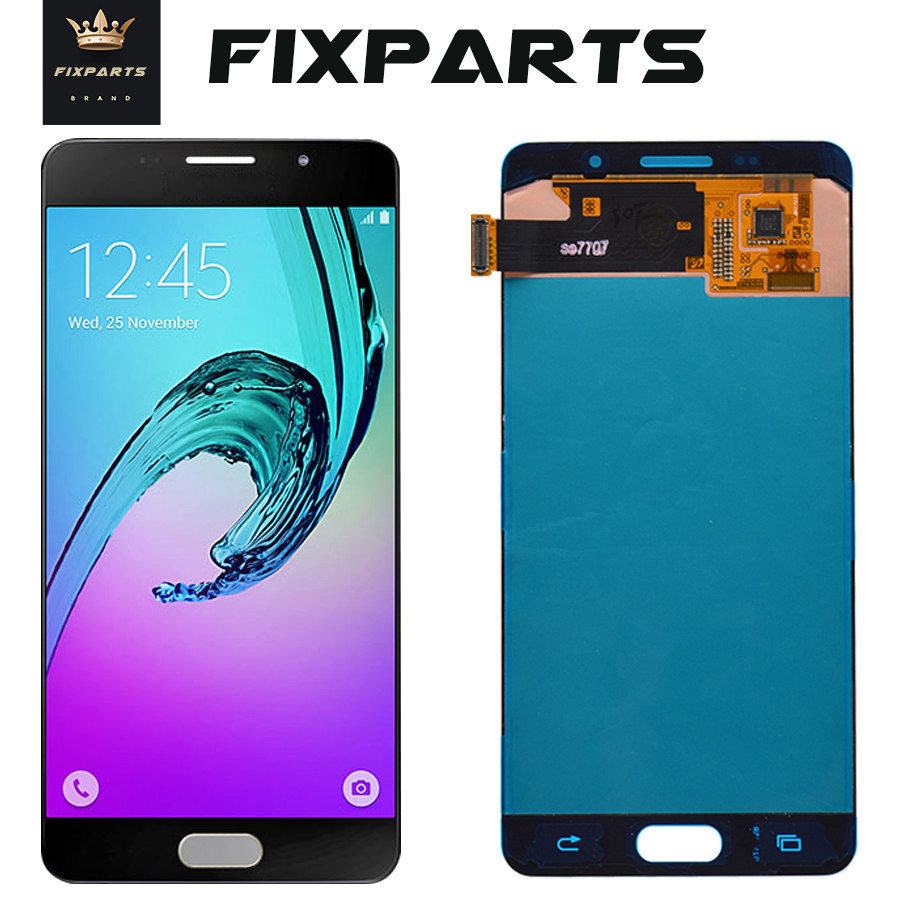 Super AMOLED For <font><b>SAMSUNG</b></font> GALAXY <font><b>A5</b></font> 2016 A510 <font><b>LCD</b></font> Display Touch Screen Digitizer Assembly Replacement For 5.2