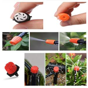 Image 5 - 40m Drip Irrigation Kit,Patio Plant Watering Kit Garden Agriculture Greenhouse Mist Cooling Irrigation System Automatic Micro Fl
