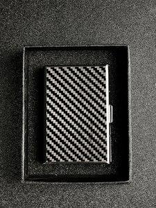 Image 5 - WESTCREEK Real Carbon Fiber Slim Business Card Holder Card Minimalist Credit id Card Case Clip