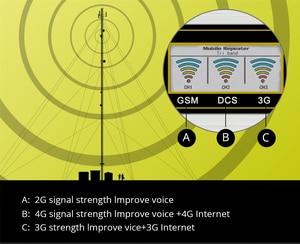 Image 3 - 2G 3G 4G Gsm Signaal Repeater 900/1800/2100 Tri Band Mobiele Booster 3 Pcs Interne Antenne set Gsm Dcs Lte Wcdma 4G Versterker Set