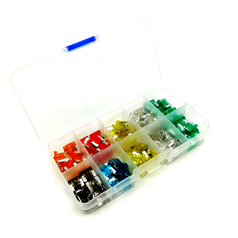[DIAGRAM_5UK]  100 Piece assorted Car Mini Low Profile Fuse Box 5,7.5,10,15,20,25,30 AMP#| Fuses| - AliExpress | 10 Amp Fuse Box |  | www.aliexpress.com