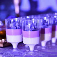 new 50PCS Mousse Dessert cup Wine glass Plastic Pudding cup Disposable Party Convenient Tiramisu Birthday Wedding Ice Cream cup