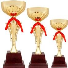 Металлический трофей на заказ, сувенирная команда, индивидуальные спортивные соревнования, призы, призеры, Трофео, дизайн Кубка