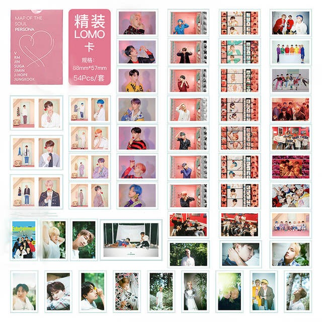 Bangtan Boys Stationery Postcard Decoration-Supplies Pictures Gifts Kpop Blackpink Fan