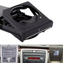New Black Front Car Cup Holder Sliding for VW Audi A4/B6/B7