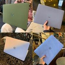 Матовый кремовый жесткий чехол для Macbook Air 13, чехол A2337 A2179 A1466 2020 Pro Retina 13 A2338 A2251 A2289 A1398, защитный чехол для ноутбука