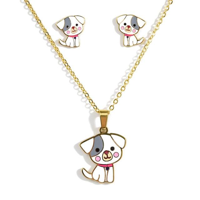 Dog Necklace set 1