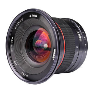 Image 3 - MEIKE 12mm f/2.8 Ultra geniş açı sabit Lens Sony E dağı A6300 A6000 A6500 A5000 NEX3/5/6 kamera ile APS C