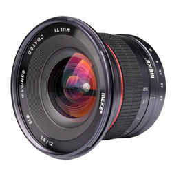Meike 12mm F2.8 Wide Angle Camera Lens APS-C Manual Focus Fixed Lens for Canon EF-M Fujifilm Sony Nikon 1 M4/3 Camera