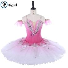 Custom Made Esmeralda Ballet Costume Dark Pink Professional Tutus Adult Pancake Tutu BT9250