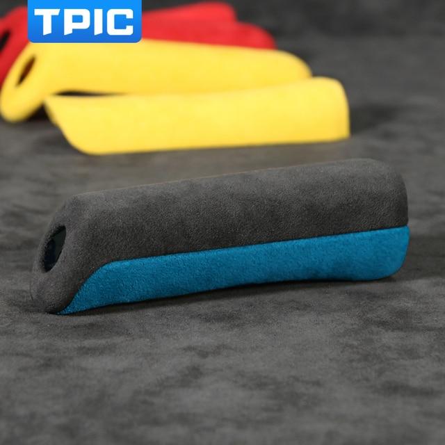 TPIC Alcantara Car Handbrake Cover For Subaru BRZ Toyota 86 2013-2020 Auto Gear Shift Sticker Mouldings Interior Accessories 4
