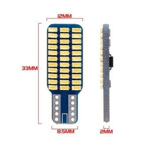 Image 5 - 5x 자동차 LED T10 192 194 168 W5W LED 전구 33 SMD 3014 테일 라이트 돔 램프 화이트 DC 12V Canbus 오류 무료 자동차 액세서리
