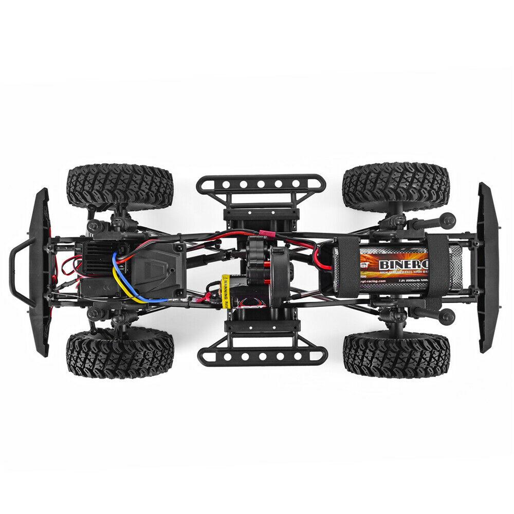 Rgt Rc Crawler 1:10 Bilancia 4wd Rc Auto Off Road Camion Rc Roccia Cruiser EX86100 Hobby Crawler Rtr 4X4 Impermeabile Giocattoli di Rc - 4