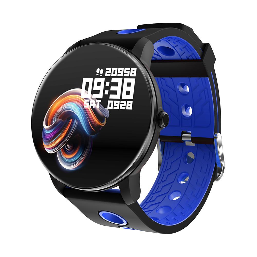 Т6 умный браслет 1,3 дюймов полный экран сенсорный металлический внешний вид сердечный ритм кровяное давление мониторинг сна