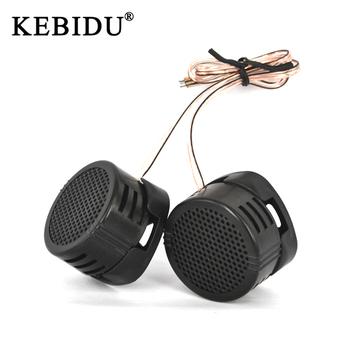 Kebidu 500W głośnik wysokotonowy samochodowy sprzęt Audio jedwabna folia na modyfikacja samochodu wysokotonowy głośnik Audio samochodowy sprzęt Audio modyfikacja tanie i dobre opinie 97db SKU006895 Universal 12 v Plastic Tweetery Głośniki 0 081kg Black SPEAKER TWEETER FOR CAR