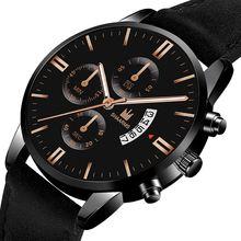 Reloj hombre luxury mens watch fashion sport wrist alloy case