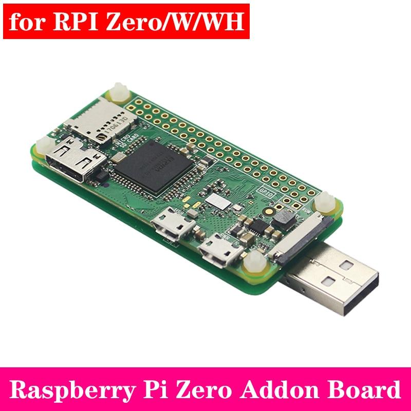 Raspberry Pi Zero USB-A Addon Board V1.1 Pi0 Badusb Connector For Raspberry Pi Zero V1.3 For Zero W For Zero WH