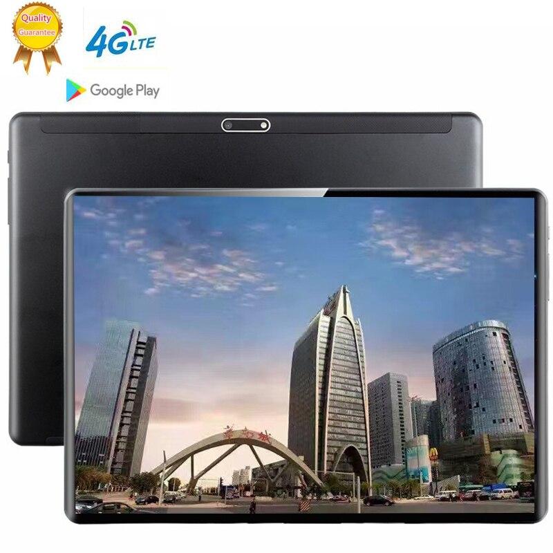 Newest 10 Inch MT6753 Tablet Android 9.0 8 Core 6GB + 128GB ROM Dual Camera 5MP SIM Tablet PC Wifi Mirco Usb GPS Bluetooth Phone