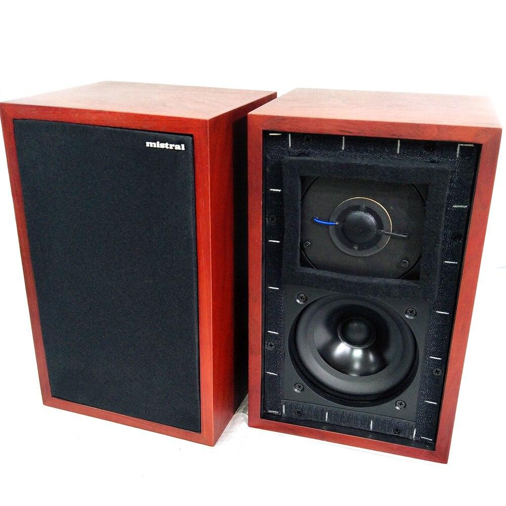 Haut-parleurs de moniteur Mistral LS3/5A 11 Ohms 50W x 2 haut-parleurs de bibliothèque hifi LS35A (la paire)