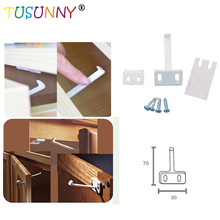 4 Pcs Per Lot Infant Protection Product Baby Safety Lock Use In Drawer,Cabinet,Cupboard