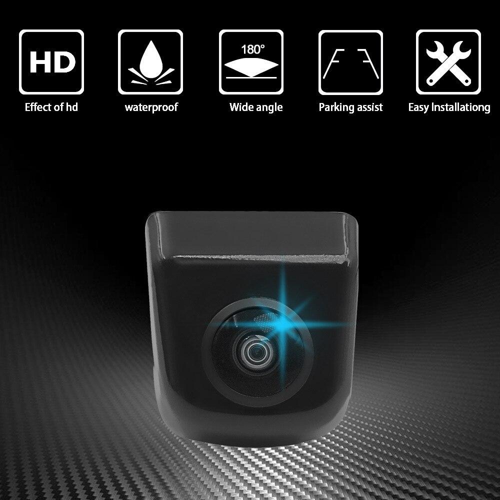 OHANEE 180 Degree HD Fish Eye Lens Starlight Night Vision Vehicle Rear / Front View Camera 15m Visible Car Camera