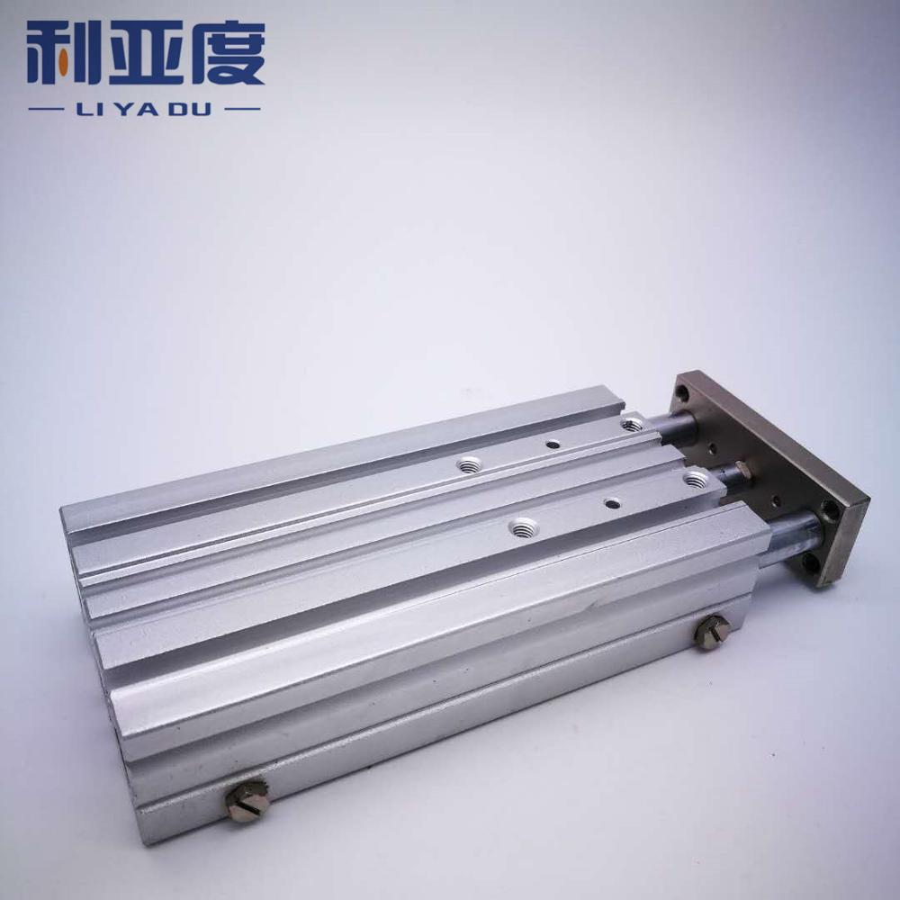 MGPM16-100 Thin cylinder with rod Three axis three bar MGPM16*100 Pneumatic components MGPL16-100 MGPL16*100