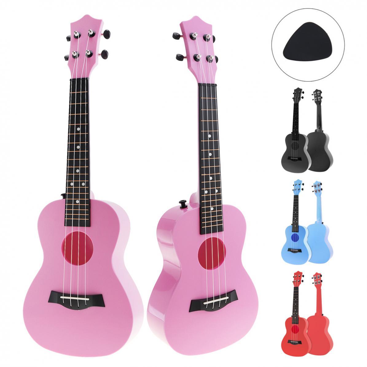 23 Inch Concert  Colorful Acoustic Ukulele Uke 4 Strings Hawaii Guitar Guitarra Instrument For Kids And Music Beginner