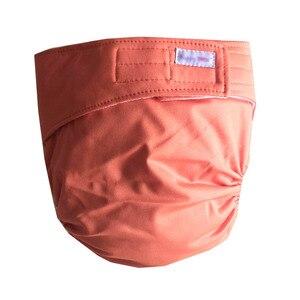 Многоразовые подгузники для взрослых для пожилых людей, регулируемые карманы из ТПУ, непромокаемые вставки в виде петли для недержания моч...