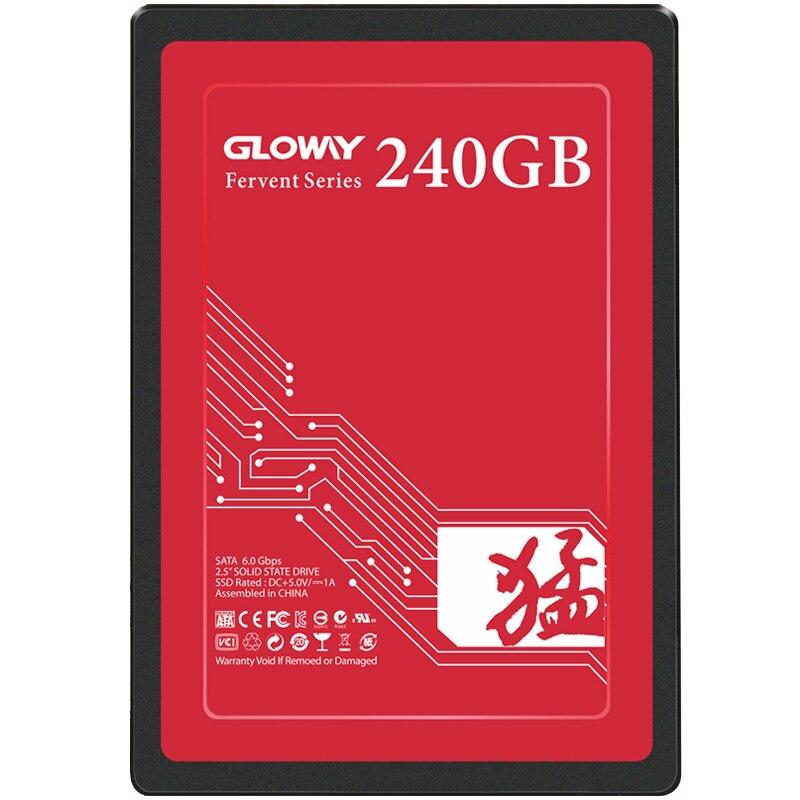 Gloway ON SALE  SSD 240GB 6GB/s Solid State Drive SATA III 2.5