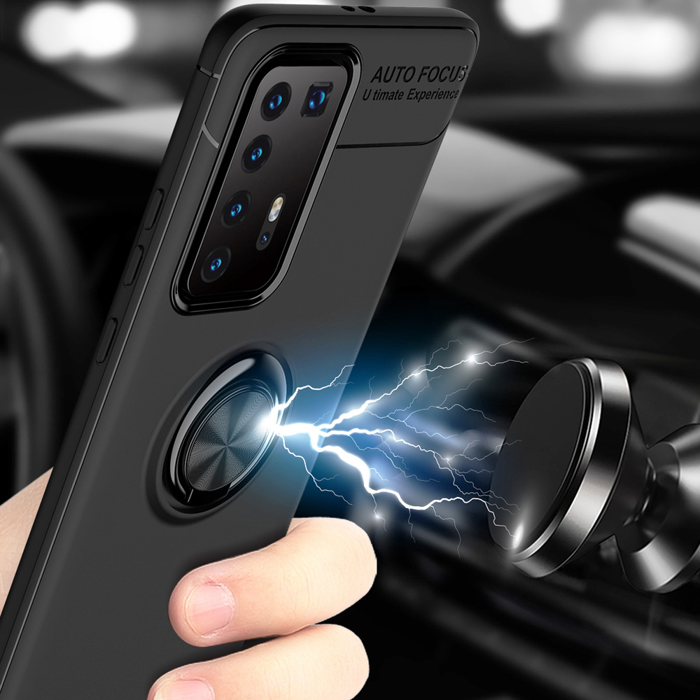 Car Magnetic Magnet Case For Huawei P40 Pro Soft Cover