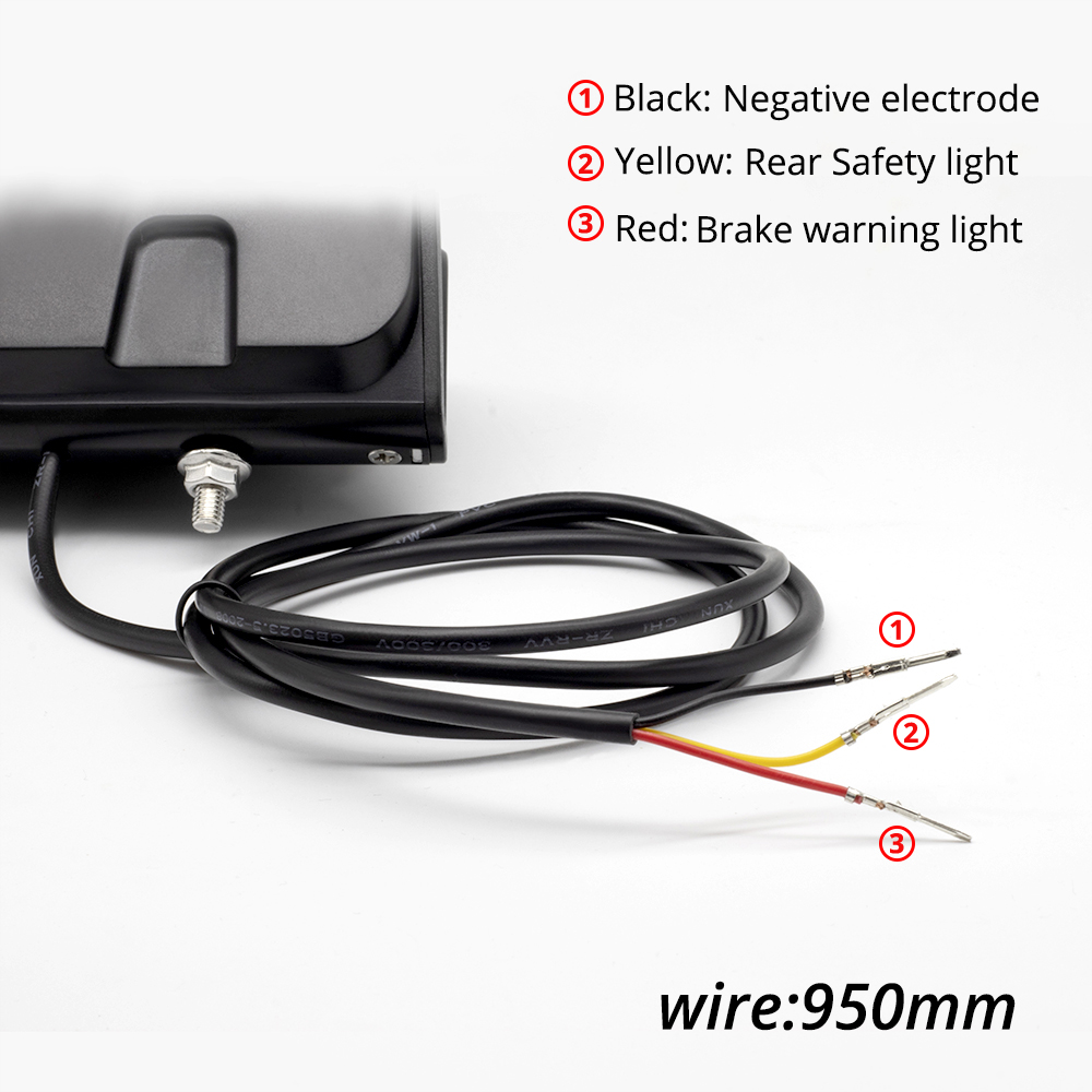 6.1 electric bike light