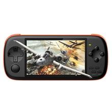 J6 وحدة تحكم بجهاز لعب محمول 4.3 بوصة IPS شاشة HD 128 بت لعبة أركيد المحاكاة لعبة مشغل فيديو المحمولة غمبد ل NES PSP GBA SFC