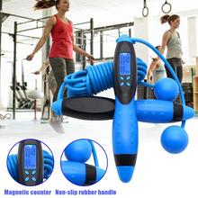 Counting Weighted Jump Rope With Counter For Adult Kids Speed Skipping Ropes Sports Exercise Gym Crossfit Fitness Equipment