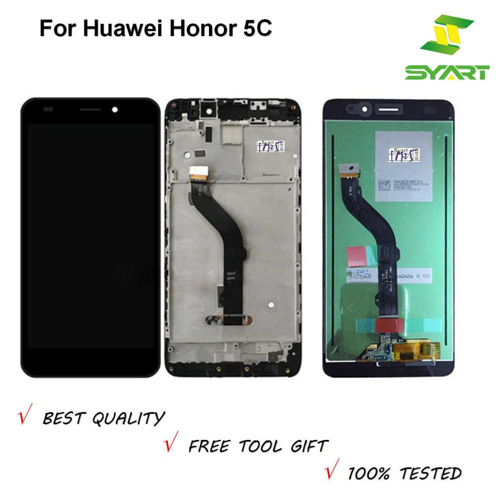 LCD Display Honor 5C For Huawei Honor 5C LCD Display Touch Screen Digitizer Assembly LCD With Frame NEM-L21 NEM-L51NEM-TL00H