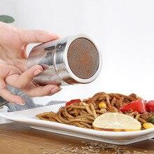 Шейкер для кофе и шоколада с крышкой из нержавеющей стали, сахарная мука, какао-порошок, сито для кофе, инструмент для приготовления пищи B88