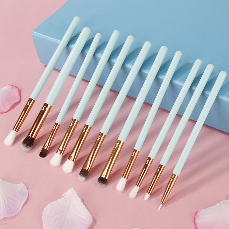 12 sets of makeup brush soft brush set cosmetics set eye shadow eyeliner eyebrows high gloss powder lip mixed makeup brush