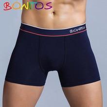 Roupa interior masculina calecon homem de algodão de bambu cueca boxer shorts boxers de seda calvinfully calcinha homem puxar em boxer longo