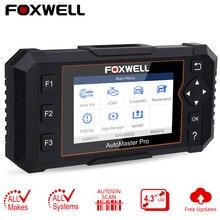 OBD2 автомобильный диагностический инструмент Foxwell NT624 Элитная полная система OBD 2 Автомобильный сканер EPB масляный Сервис Сброс ODB2 сканер бесплатное обновление
