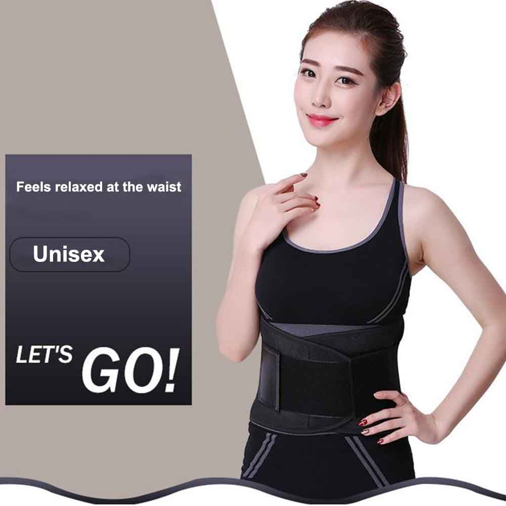 Women Men Body Shaper Training Supporting Gym Muscle Compression Slimming Waist Trimmer Abdominal Workout Weight Loss Sweat Wrap