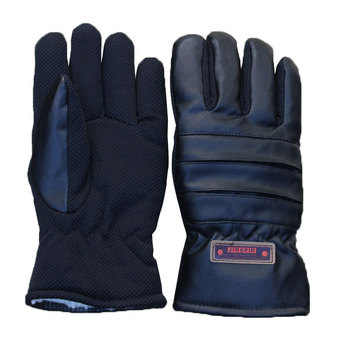 locomotive gloves leather motorcycle gloves warm retro ride men harley waterproof leather gloves cold resistant Labor Safety Men Leather Warm Gloves Winter Thickening Large Cotton Gloves Extra-large Lengthen Ride Motorcycle Cycling Windproo