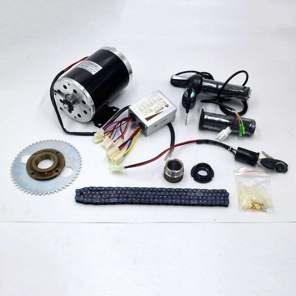 24 V/36 V/48 V 1000W Elektrische Roller Motor Elektrische Fahrrad Gürtel Stick MY1020 Hohe Geschwindigkeit gürtel MOTOR elektrische roller umwandlung kit