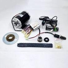 Scooter elétrico de alta velocidade, 24v/36v/48v 1000w, motor elétrico da bicicleta, my1020 kit de conversão de scooter elétrico
