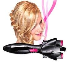 Trenzador de pelo con batería eléctrica, dispositivo para tejer, máquina trenzadora de Cabello, Herramienta de Peinado